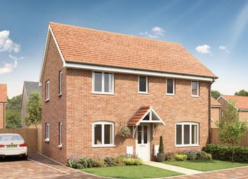 "Thumbnail 3 bedroom semi-detached house for sale in ""The Clayton"" at Stane Street, Billingshurst"