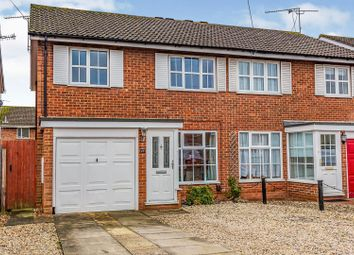 Thumbnail 3 bed semi-detached house for sale in Gainsborough Close, Woodley, Reading