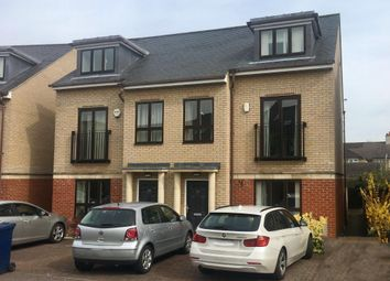 Thumbnail 4 bed town house to rent in St. Bartholomews Court, Riverside, Cambridge
