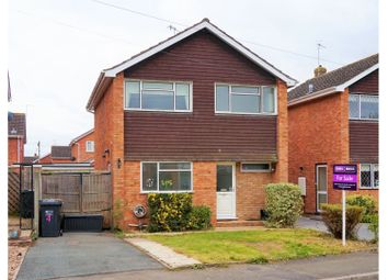 Thumbnail 3 bed detached house for sale in Quebec Close, Lower Wick, Worcester