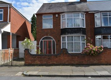 Thumbnail 3 bed semi-detached house for sale in Nansen Road, North Evington, Leicester