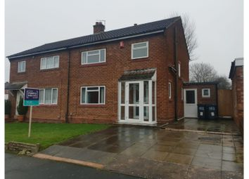 Thumbnail 3 bed semi-detached house to rent in Nuthurst Road, Birmingham