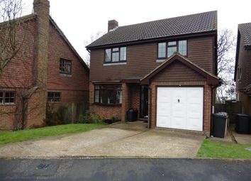 Thumbnail 4 bed detached house for sale in Ridgeway Close, Heathfield, East Sussex