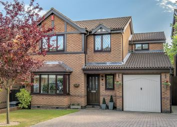 Thumbnail 4 bed detached house for sale in Glanton Way, Arnold, Nottinghamshire