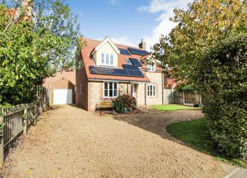 Thumbnail 4 bed property for sale in Old Chapel Road, Freethorpe, Norwich