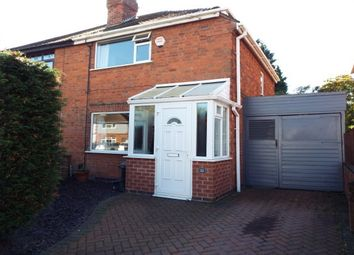 Thumbnail 2 bed semi-detached house to rent in Kingston Avenue, Wigston