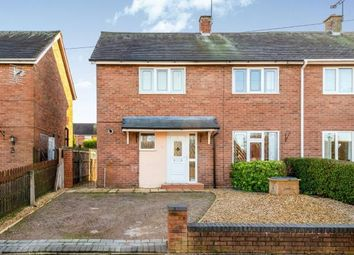 Thumbnail 2 bed semi-detached house for sale in Beech Grove, Cannock, Staffordshire