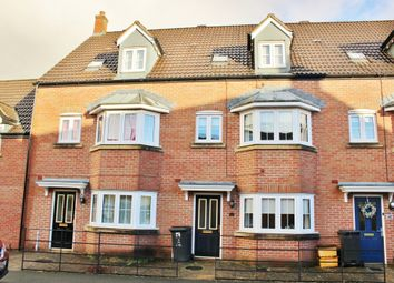 Thumbnail 4 bed town house to rent in Cassini Drive, Swindon