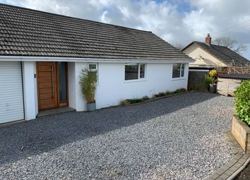 Thumbnail 4 bed detached bungalow for sale in Humphreys Close, St. Cleer, Liskeard
