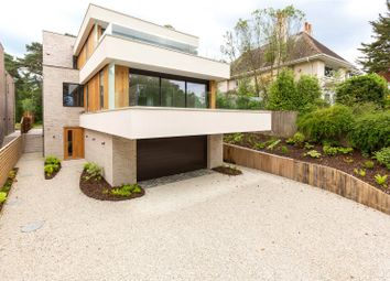 Thumbnail 4 bed detached house for sale in Brudenell Avenue, Canford Cliffs, Poole