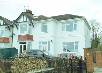 Thumbnail 4 bed semi-detached house for sale in Ashleigh Road, Sketty, Swansea
