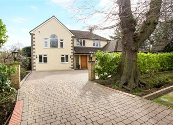 Thumbnail 5 bed detached house for sale in Dartnell Avenue, West Byfleet, Surrey