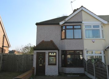 Thumbnail 3 bed end terrace house for sale in Manser Road, Rainham