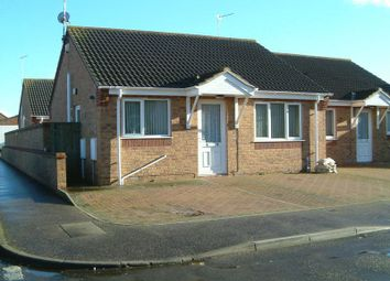 Thumbnail 3 bedroom semi-detached bungalow to rent in Reginald Court, Estcourt Road, Great Yarmouth