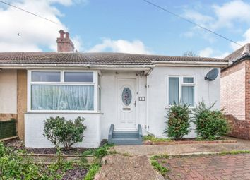 Thumbnail 3 bed semi-detached bungalow for sale in Second Avenue, Newhaven
