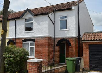 Thumbnail 3 bed end terrace house for sale in Church Road, Watton, Thetford, Norfolk