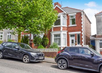 Thumbnail 3 bed semi-detached house for sale in Tynewydd Road, Barry