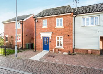 Thumbnail 2 bed end terrace house for sale in Wellington Road, Watton, Thetford