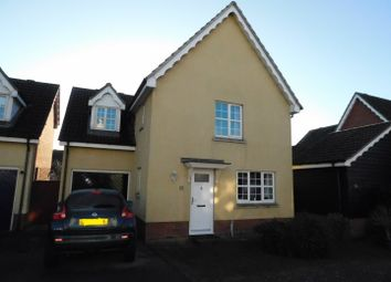 Thumbnail 4 bed detached house for sale in Nightingale Close, Stowmarket