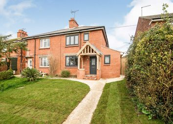 Thumbnail 3 bedroom semi-detached house for sale in Main Road, Tolpuddle, Dorchester