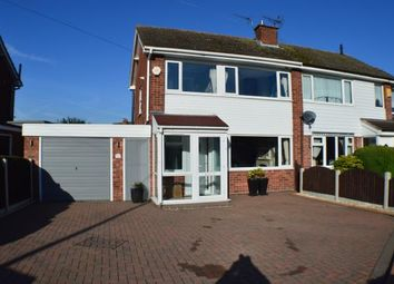 Thumbnail 3 bed semi-detached house for sale in Micklehome Drive, Alrewas, Burton Upon Trent