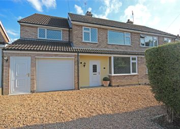Thumbnail 5 bed semi-detached house for sale in Paske Avenue, Gaddesby, Leicester, Leicestershire