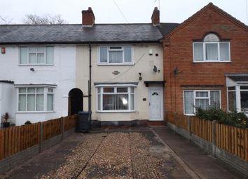 Thumbnail 3 bed terraced house for sale in Pelham Road, Ward End, Birmingham