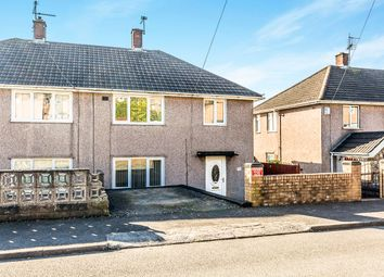 Thumbnail 3 bed terraced house for sale in Letterston Road, Rumney, Cardiff