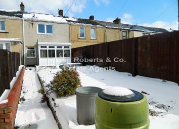 Thumbnail 2 bedroom terraced house for sale in Vale Terrace, Tredegar, Blaenau Gwent.