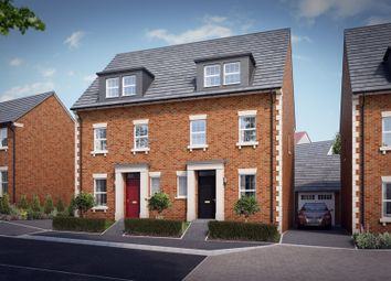 "Thumbnail 4 bed property for sale in ""The Halstead"" at Knight Road, Wells"