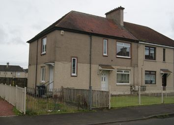 Thumbnail 2 bed flat to rent in Muirhouse Avenue, Newmains