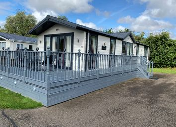 Thumbnail 2 bed lodge for sale in Carnoustie Court, Tydd St Giles, Wisbech, Cambridgeshire, 5Nz