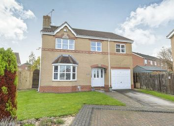 Thumbnail 4 bed detached house for sale in Bridge Close, Victoria Dock, Hull