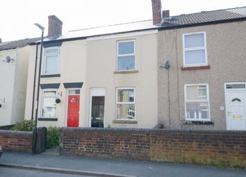 Thumbnail 2 bed terraced house for sale in Wellington Street, New Whittington, Chesterfield
