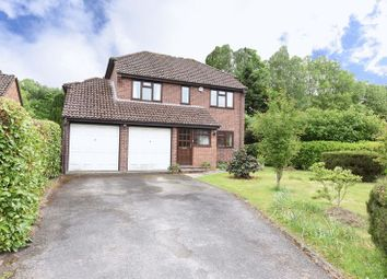Thumbnail 4 bed detached house for sale in Beaurepaire Close, Bramley, Tadley