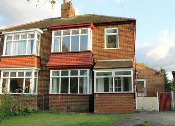 Thumbnail 3 bed semi-detached house for sale in Danesfort Avenue, Guisborough