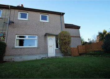 Thumbnail 3 bed end terrace house for sale in Brodick Road, Kirkcaldy