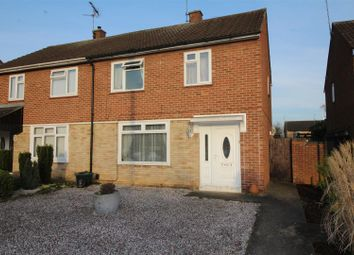 Thumbnail 3 bedroom property for sale in Swale Avenue, Gunthorpe, Peterborough