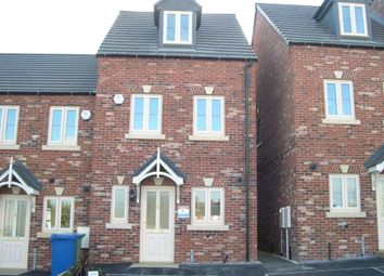 Thumbnail 3 bed end terrace house to rent in Maple Leaf Gardens, Worksop, Nottinghamshire