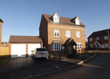 Thumbnail 5 bedroom detached house for sale in Davidson Gardens, Ruddington, Nottingham