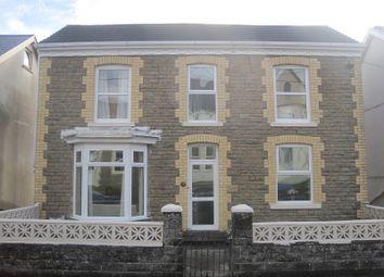 Thumbnail 3 bedroom detached house for sale in Clare Road, Ystalyfera, Swansea.