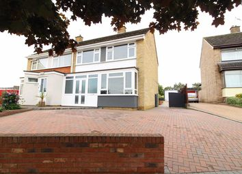 Thumbnail 3 bed semi-detached house for sale in Radcliffe Drive, Ipswich