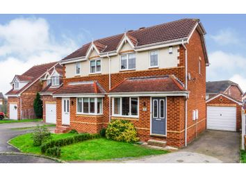2 bed semi-detached house for sale in Springvale Close, Sharlston, Wakefield WF4