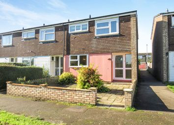Thumbnail 3 bedroom end terrace house for sale in Howitts Gardens, Eynesbury, St. Neots