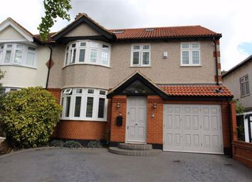 Thumbnail 5 bedroom semi-detached house for sale in Dale View Crescent, North Chingford, London
