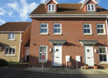 Thumbnail 3 bed end terrace house for sale in Taurus Avenue, North Hykeham, Lincoln