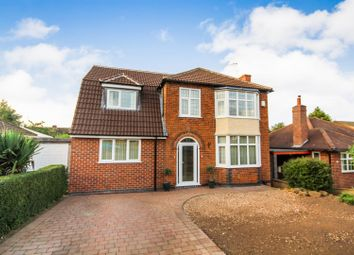 Thumbnail 4 bedroom detached house for sale in Rolleston Drive, Arnold, Nottingham