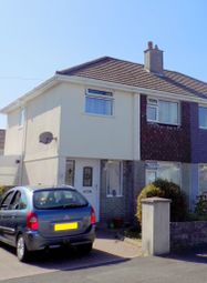 Thumbnail 3 bed semi-detached house to rent in Birkbeck Close, Plymouth