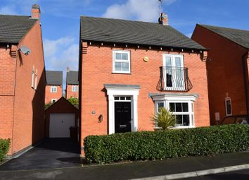 Thumbnail 4 bedroom detached house for sale in Moray Close, Church Gresley, Swadlincote