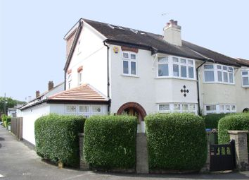 Thumbnail 4 bed semi-detached house for sale in Carmalt Gardens, Hersham, Walton-On-Thames